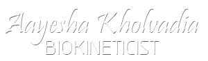 Dr Aayesha Kholvadia Biokineticist